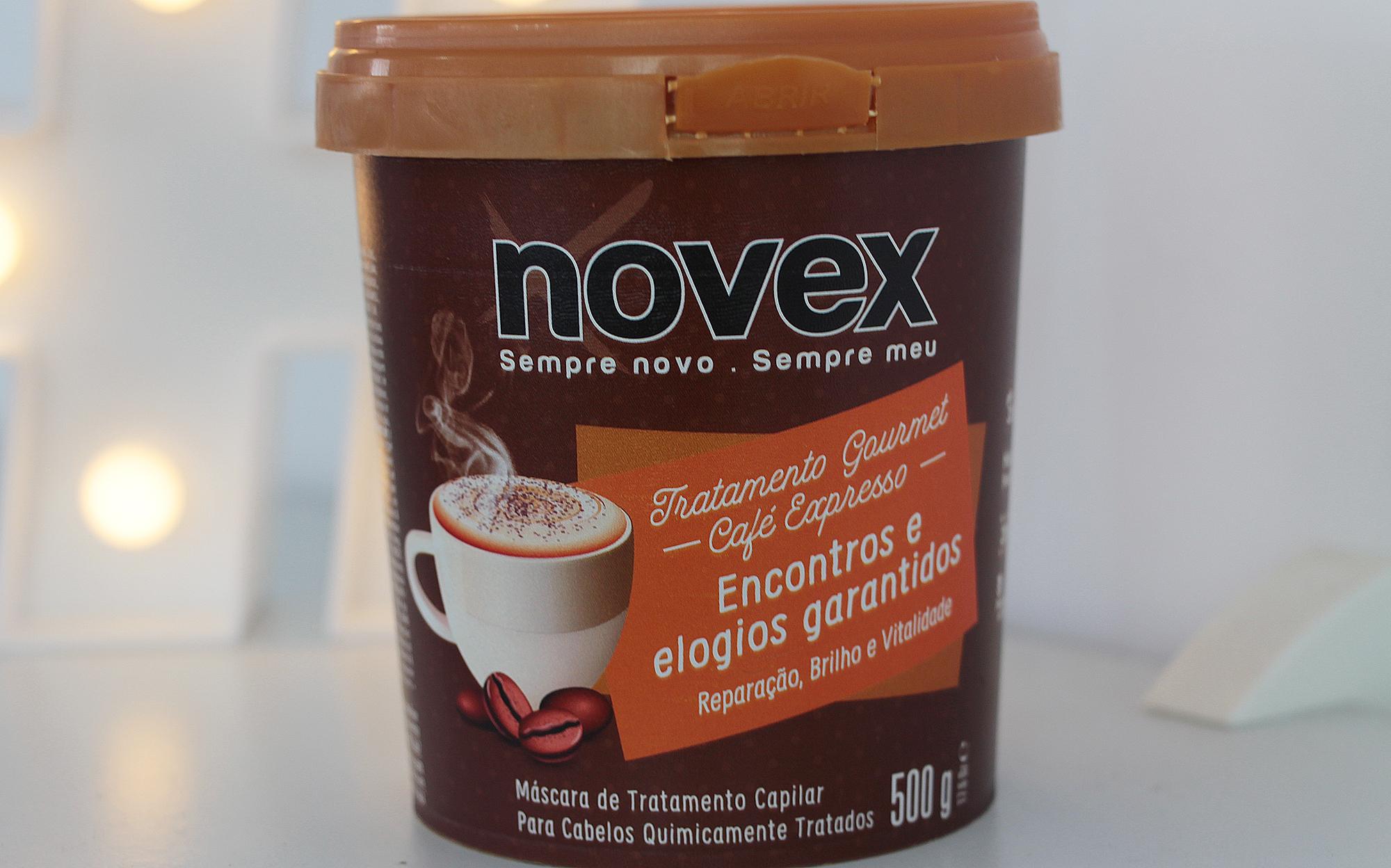 Novex Café Expresso Máscara de Tratamento