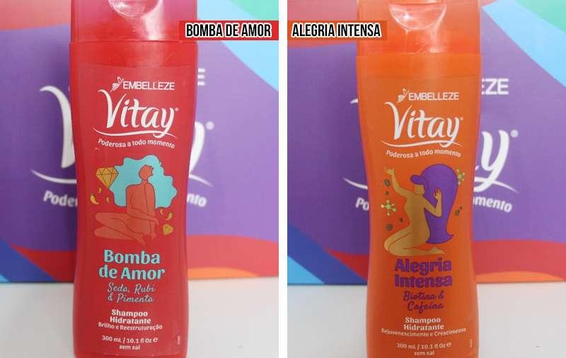 linha vitay novex resenha shampoos bomba de amor alegria intensa
